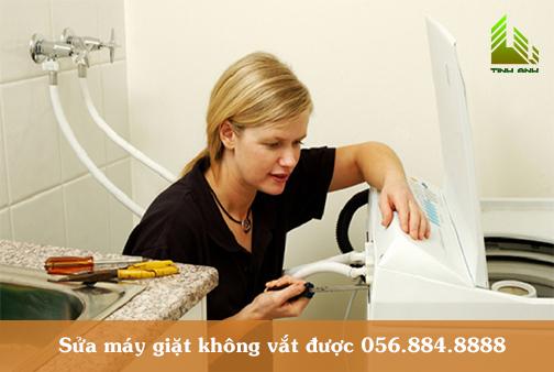 Máy giặt không vắt được nguyên nhân và cách khắc phục